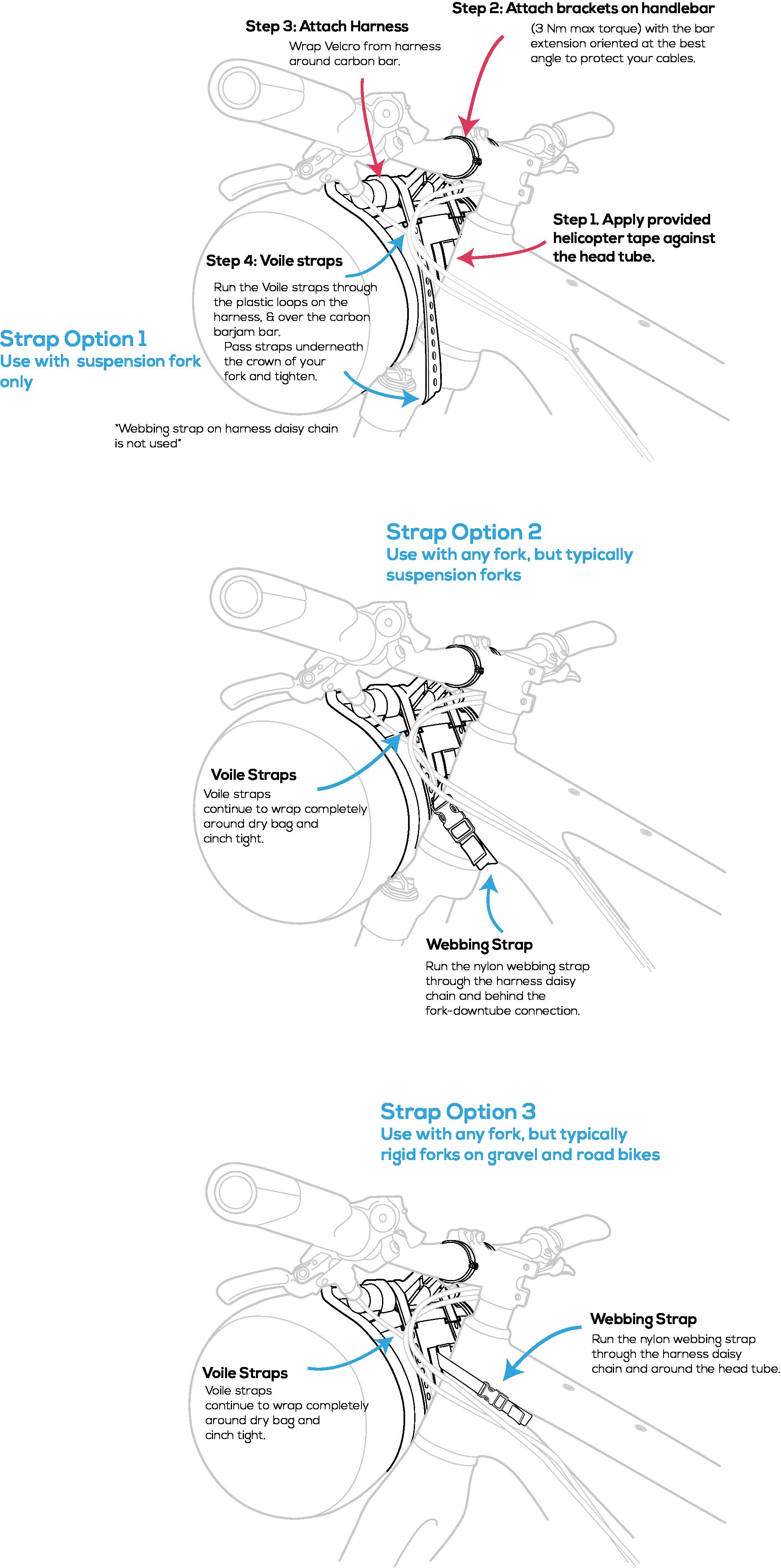 Bikepacking Harness Barjam